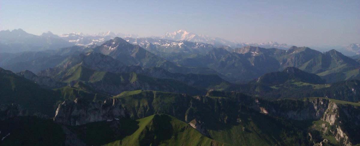 Entre Mont Blanc...